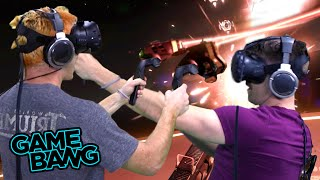 WE BECOME SPACE PIRATES W/ HTC VIVE (Game Bang)