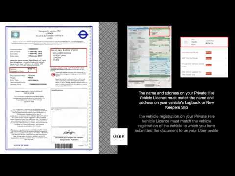 Private Hire Vehicle Licence Guide   Uber
