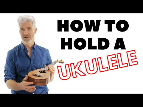How To Hold A Ukulele Tutorial | Uke Like The Pros