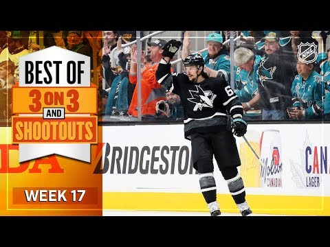 Best 3-on-3 and Shootout Moments from Week 17