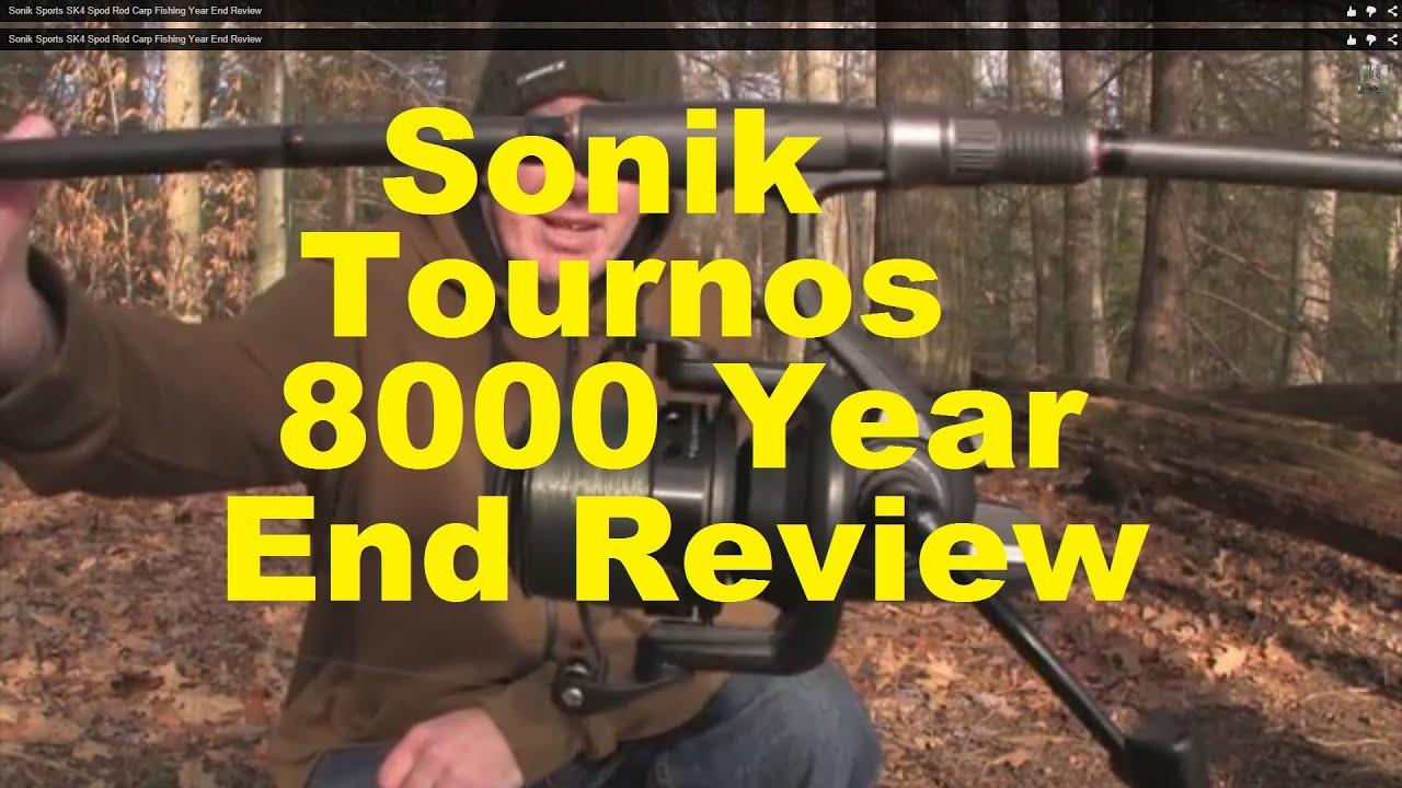 sonik sports tournos 8000 reel carp fishing year end review sonik sports tournos 8000 reel carp fishing year end review