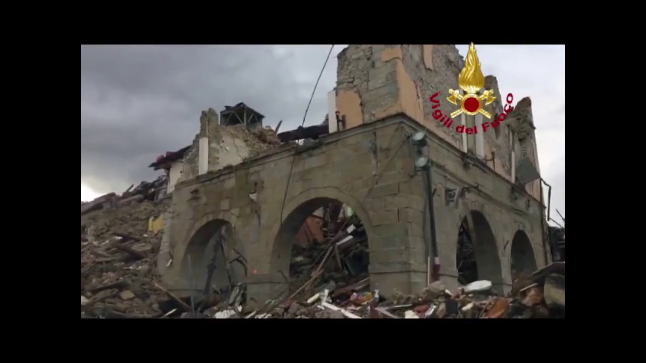 Terremoto nel Maceratese: video #1