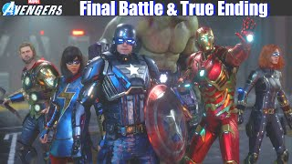 Avengers vs MODOK Final Battle with Cutscenes (Marvel's Avengers Game 2020)