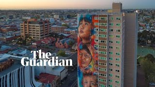 Tallest mural in southern hemisphere unveiled