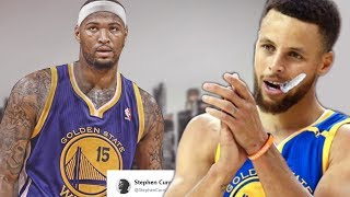 Steph Curry Reacts to DeMarcus Cousins JOINING the Warriors!