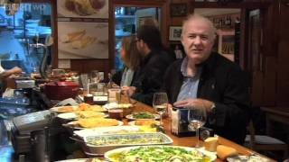 """Rick Samples Some """"Pinchos"""" from the Basque Country - Rick Stein's Spain - BBC Two"""