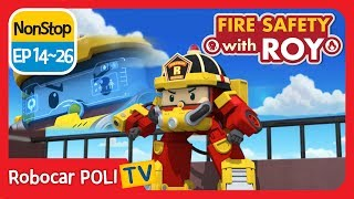 Video 🔥Fire safety with Roy | EP 14 -26 | Robocar POLI | Kids animation download MP3, 3GP, MP4, WEBM, AVI, FLV Juli 2018