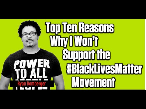 Top Ten Reasons to Not Support the #BlackLivesMatter Movement   The Mark Harrington Show   11-05-202