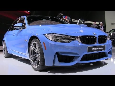Watch the BMW M3 and BMW M4 debut at Detroit Auto Show
