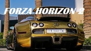 Bugatti Veyron Super Sports GOLD: Professional Mode Hyper Car Racing Forza Horizon 2