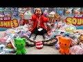 Squishy Surprise Toys Hunt Challenge!