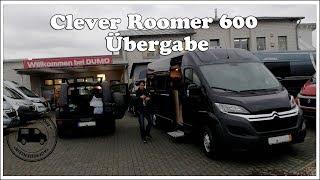 Übergabe Kastenwagen Clever Roomer 600