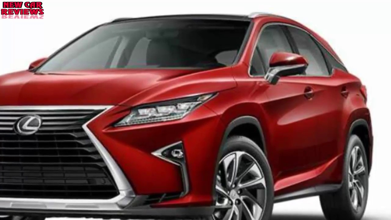 New car review 2018 Lexus RX midsize luxury crossover ...