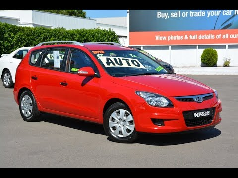 2012 Hyundai i30 SX Auto Wagon for sale at Newcastle Vehicle Exchange