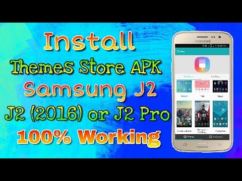 How To Install Themes On Samsung Galaxy J2 2016 or J2 Pro | Unstable | Hindi