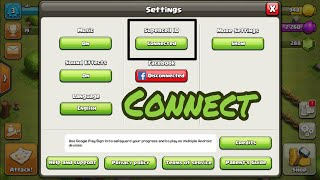 How to log in your clash of clan with SUPERCELL ID