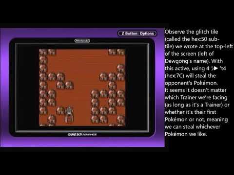 How Glitch Item 4 ぅ T4 Hex7c Can Be Used To Steal Other Trainers Pokémon En Pokémon Yellow - purple skittles roblox walkthrough