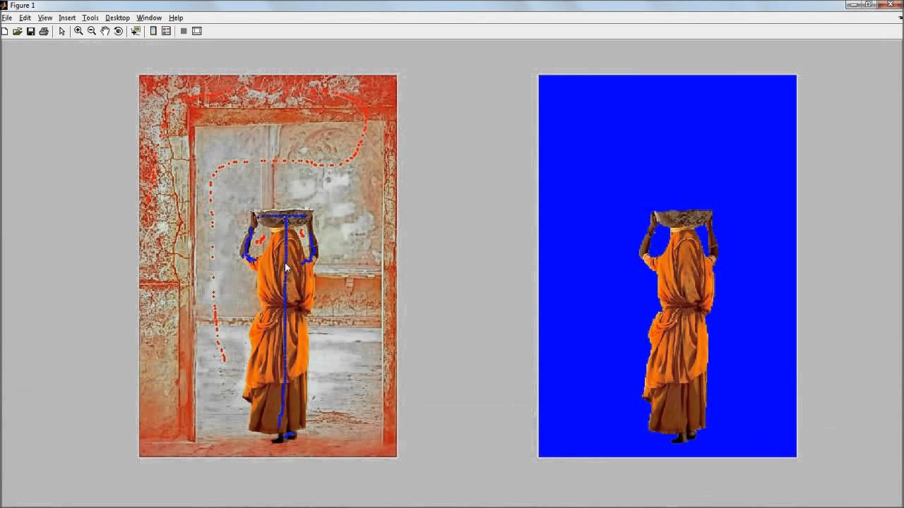 MATLAB implementation of the Lazy Snapping algorithm for image segmentation