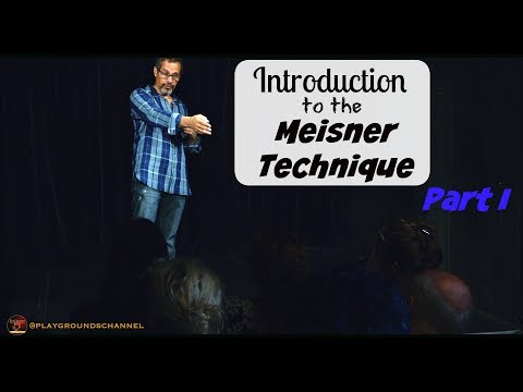 What is the Meisner Technique ? Free Class with Anthony Montes, part I