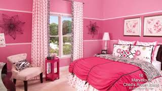 16 Marvelous Child's Room Ideas With Pink Walls