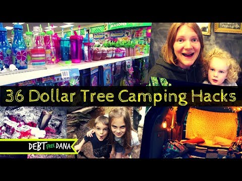 36 Dollar Tree Camping Hacks and Must Have Camping Supplies