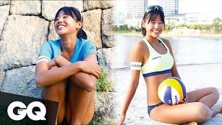 GQ JAPAN美人アスリート名鑑──#6 坂口佳穂さん(ビーチバレー) thumbnail