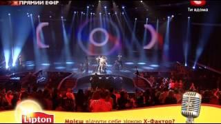 Х-фактор 3 Украина. Дмитрий Монатик. 3 прямой эфир 10.11.2012