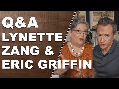 Q & A with Lynette Zang and Eric Griffin