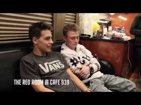 Jacob Whitesides and Dylan Holland Interview at The Red Room @ Cafe 939