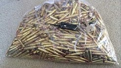 What 1000 rounds of .223 looks like
