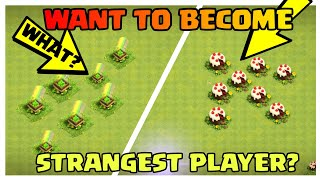 NOW BECOME STRANGE PLAYER OF COC | HOW TO BECOME FAMOUS IN COC | CLASH OF CLANS