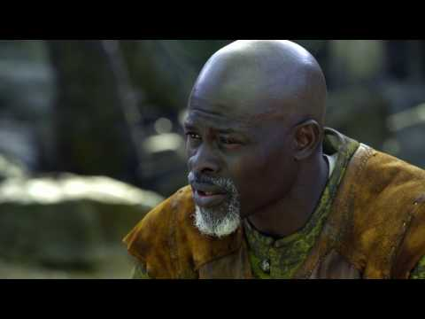 "King Arthur: Djimon Hounsou ""Bedivere"" Behind the Scenes Movie Interview"