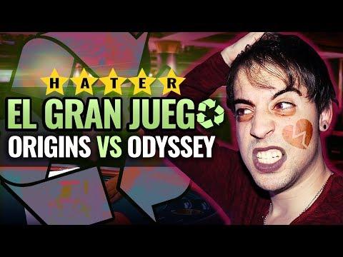 El GRAN JUEGO de ASSASSIN'S CREED: ORIGINS VS ODYSSEY ¿CUAL ES EL RECICLADO? (Ray Snakeyes) thumbnail