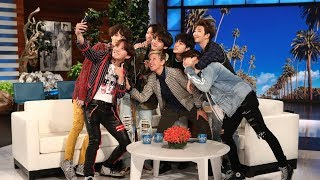 BTS Comeback: Behind the Scenes with BTS on Ellen