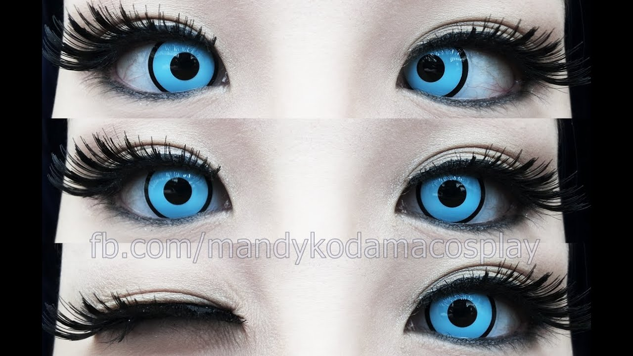 Review Circle Lenses Geo Crazy Halloween Lens Sf34 Blue
