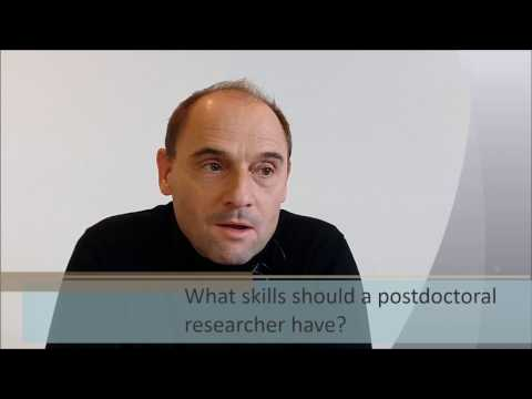 A Brief Conversation with Ulrich Jonas | What skills should a postdoctoral researcher have?