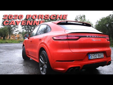 Checking Out The New 2020 Porsche Cayenne Coupe In Russia - Motoring TV