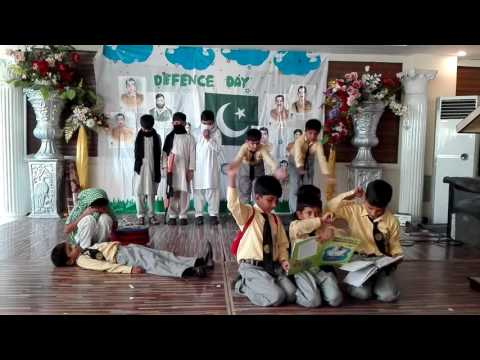 Grade 2 and 3 boys- Defence Day of Pakistan 2016- Thinker's Alliance CSS