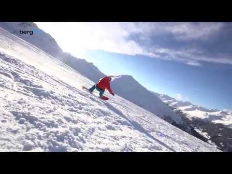 Смотреть Learn Snowboarding - Carving Turn онлайн