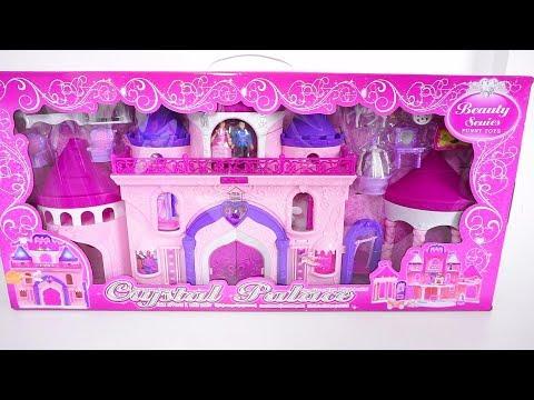 Deluxe Palace Dolls House Play Set Tia Tia