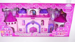 Deluxe Palace Dolls House Play Set Tia Tia