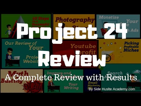 Project 24 By Income School   My Complete Review With Results