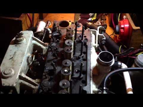 Life on a Sailboat - Replacing The Head Gasket On A Perkins 4107