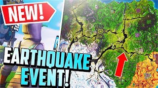 *NEW* Fortnite EARTHQUAKE EVENT Confirmed / First Tremor IN-GAME