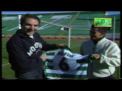 Delfim (Sporting) e Miguel Ângelo (Delfins) em 17/12/1998
