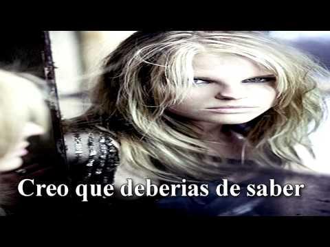 Ana Johnsson -  Dont cry for pain (Sub en español)