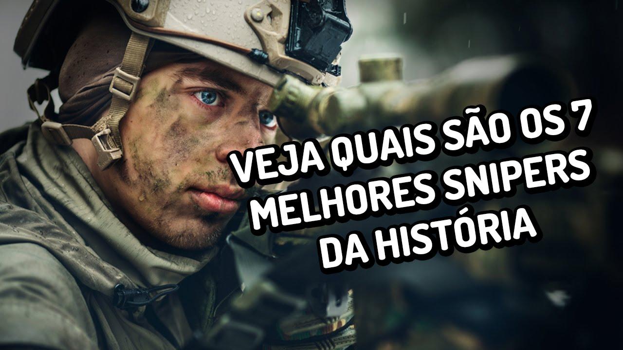 Os 7 dos melhores snipers da História