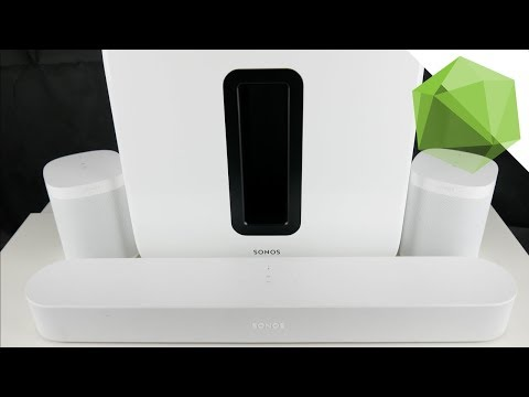 (Fast) Kabelloses Heimkino System - Sonos 5.1 (Kurz)Review | TN