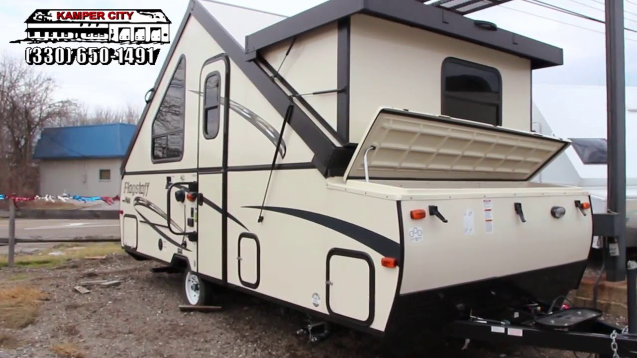 2016 Forest River Flagstaff Hardside T21DMHW - YouTube