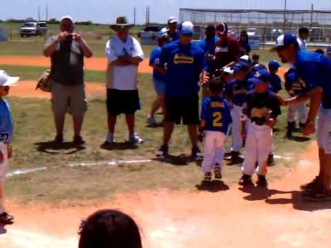 T-ball All-star Slam 6-12-11 First Place, Players
